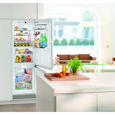 Liebherr 24 Inch Fully Integrated Refrigerator Freezer With Biofresh