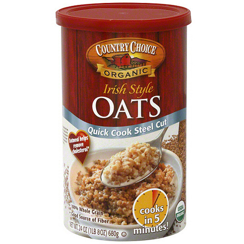 Country Choice Organic Irish Style Oats, 24 oz (Pack of 6)