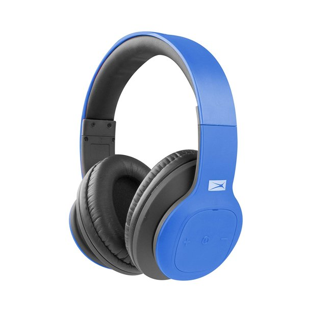 Altec Lansing Mzx300 Wireless Bluetooth Headphones Blue Walmart Com Walmart Com