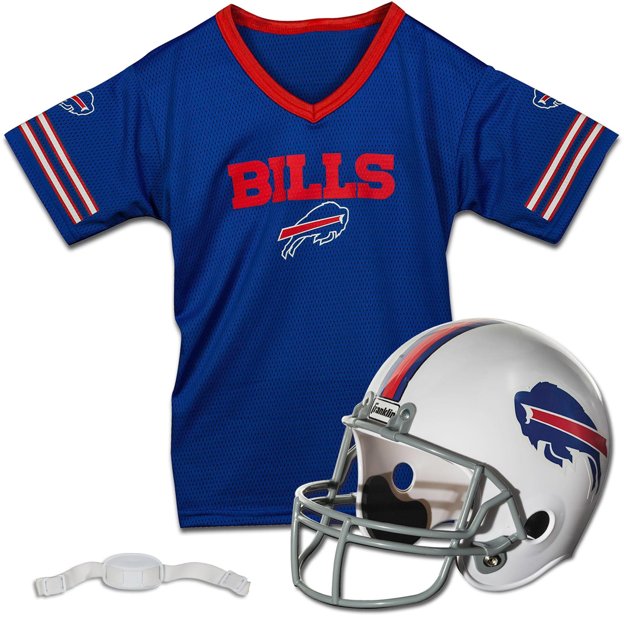 Buffalo Bills Franklin Sports Youth Helmet and Jersey Set