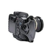 Micnova MQ-GS2 Genuine Leather Grip & Wrist Strap Combo for DSLR Cameras (Tripod Mount Attachment) {Style# 2}