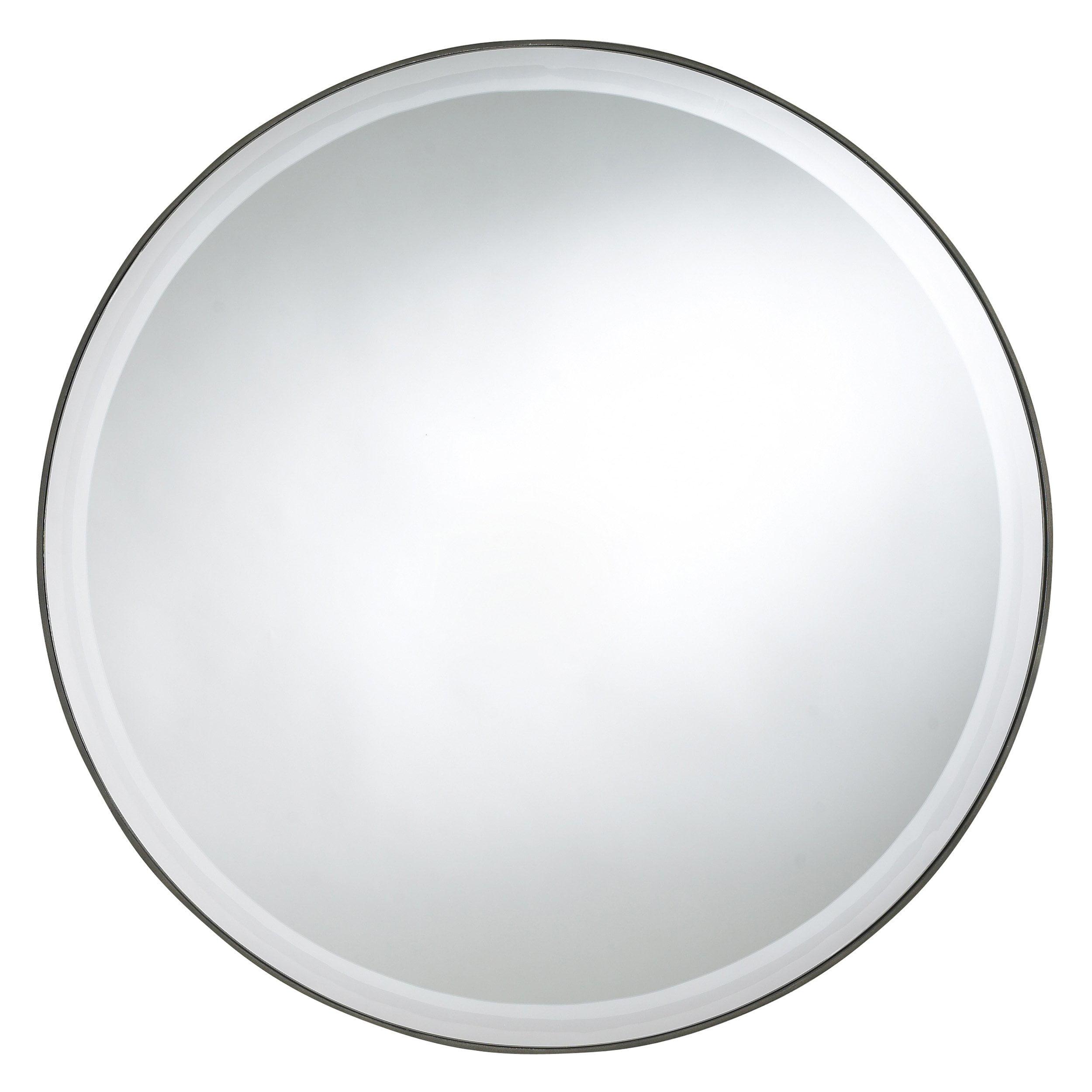 Cooper Classics Seymour Round Mirror 29 diam.in. by Cooper Classics