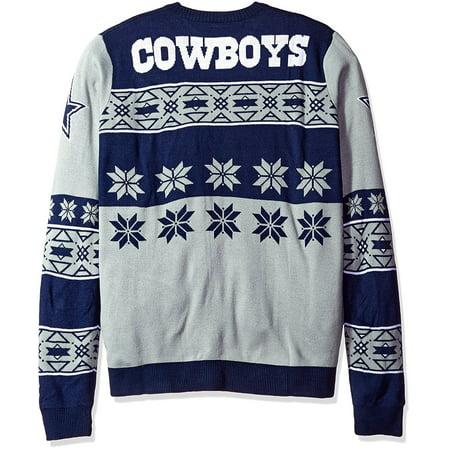 Dallas Cowboys NFL Big Logo Ugly Sweater - image 2 de 2