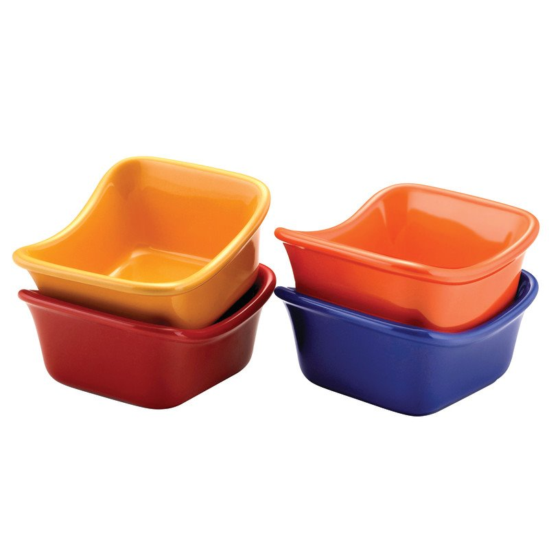 Rachael Ray Serveware 4 Piece Dipping Cup Set