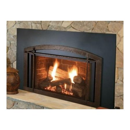 Majestic Icfdv30lntscsb Triumph Medium Direct Vent Gas Fireplace Insert Up To 31 000 Btus With