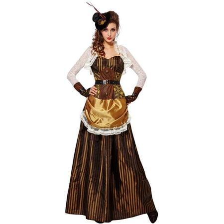 Womens Victorian Steampunk Beauty Costume