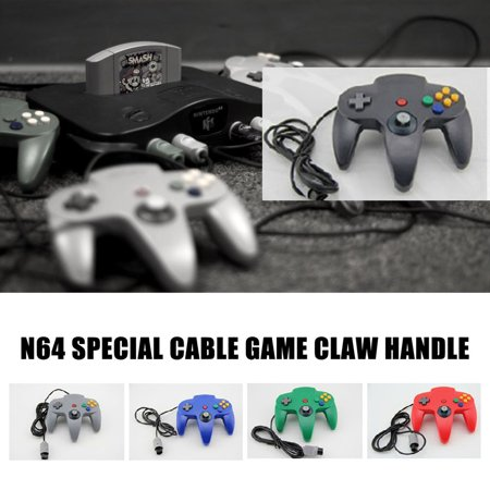 N64 game controller N64 wired controller N64 game wired controller - image 3 de 6