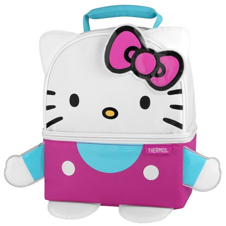 Thermos Novelty Lunch Kit, Hello Kitty Figure - Hello Kitty Themes