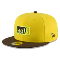 San Diego Padres New Era 2018 Players' Weekend Team Umpire 59FIFTY Fitted Hat - Yellow/Brown