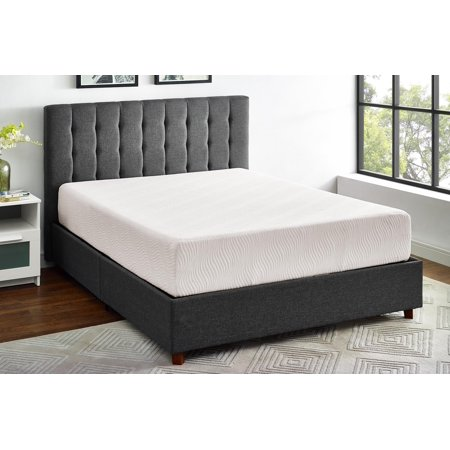 mainstays 10 inch memory foam mattress certipur us certified foam. Black Bedroom Furniture Sets. Home Design Ideas