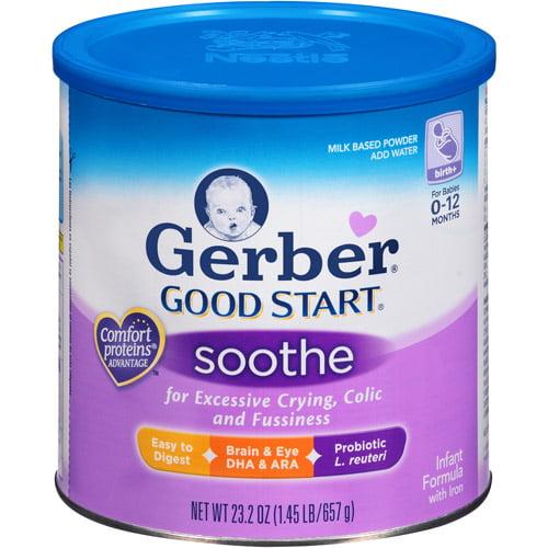 Gerber - Good Start Soothe Powder Infant Formula, 23.2 oz