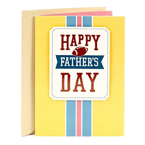 Hallmark Father's Day Greeting Card Appropriate for Stepfather (So Glad to Have a Great Guy Like You on Our Team)