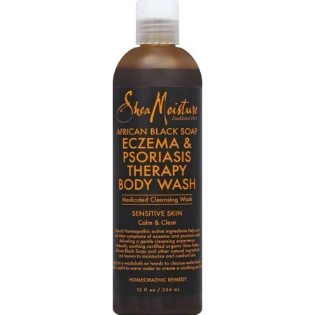 SheaMoisture African Black Soap Eczema & Psoriasis Therapy Body Wash 12