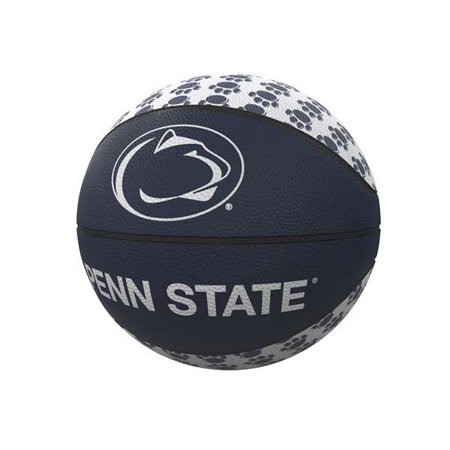 - Penn State Nittany Lions Repeating Logo Mini-Size Rubber Basketball
