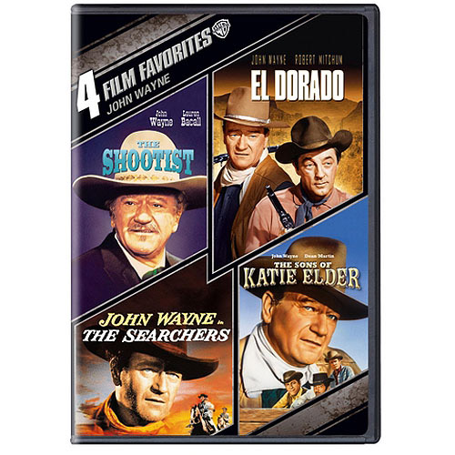 4-Film Favorites: John Wayne - The Shootist / True Grit / The Sons Of Katie Elder / El Dorado (Widescreen)