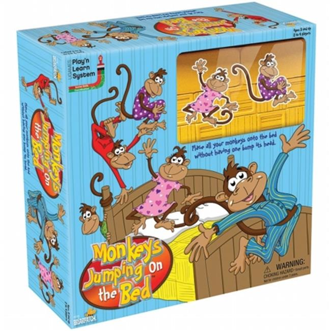 University Games UG-01318 Five Little Monkeys Jumping On The Bed Game by University Games Corporation