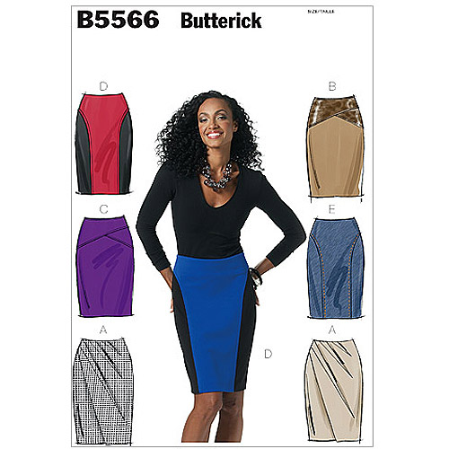 Butterick Pattern Misses' Skirt, AA (6, 8, 10, 12)