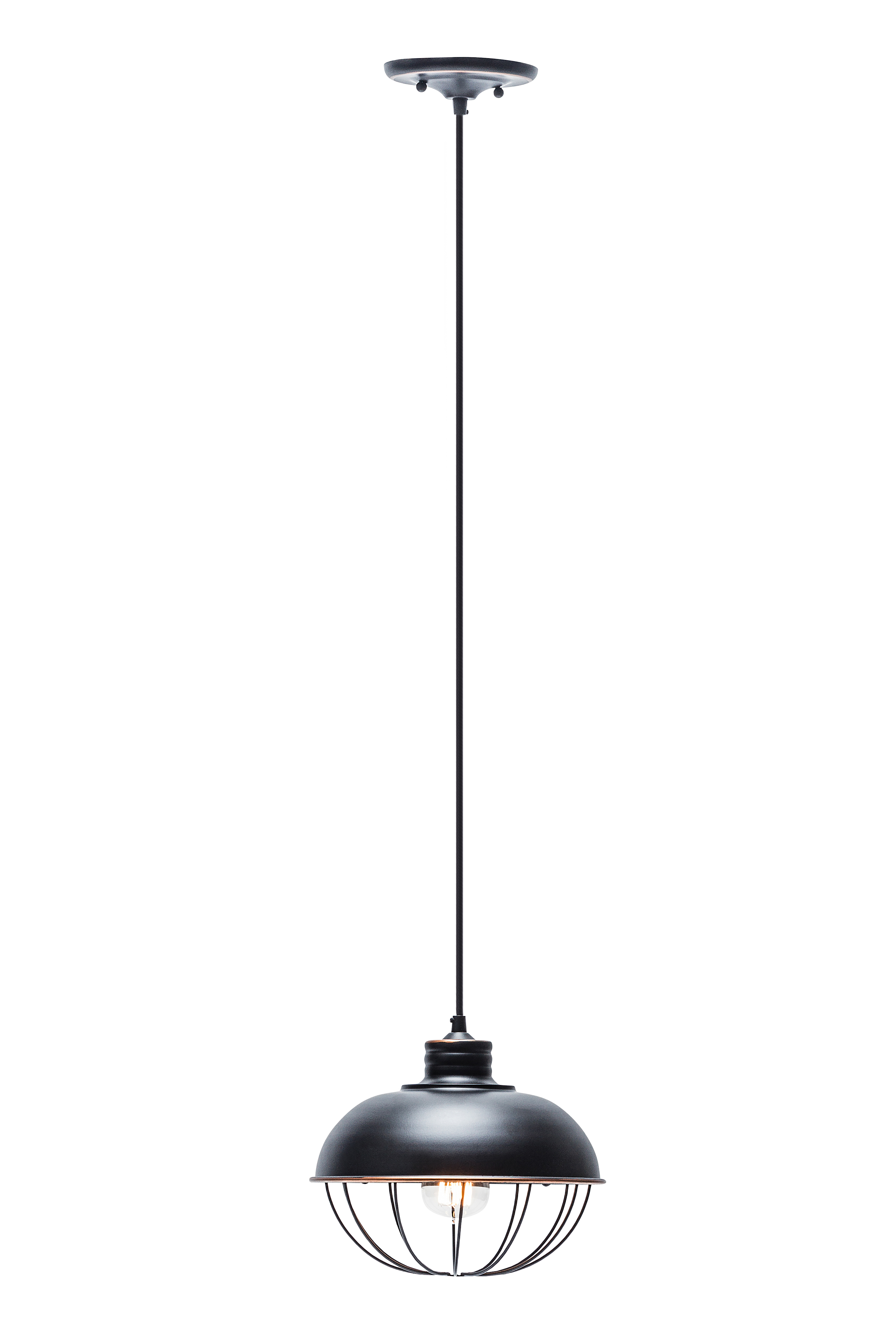 Chrome Clear Glass Outer Aluminum Inner Shades Globe Electric 65809 Maddox 3-Light Pendant Finish