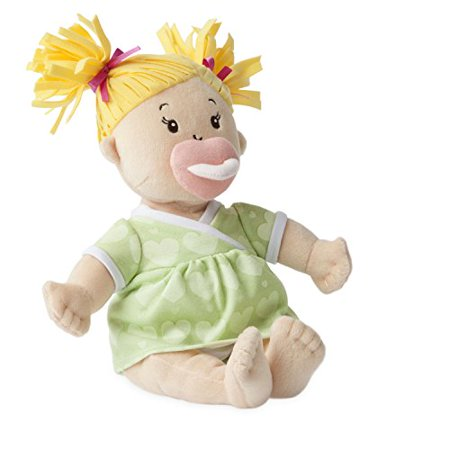 Manhattan Toy Baby Stella Blonde Hair Soft Nurturing First Baby Doll