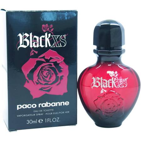 Paco rabanne women 39 s black xs perfume 1 oz for Paco rabanne women s fragrance