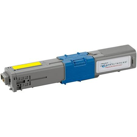 Media Sciences, MDA44012, Replacement OKI C330 Toner Cartridge, 1 / Each
