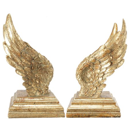 Two Bookends (A & B Home Soar Wing Bookend - Set of 2)