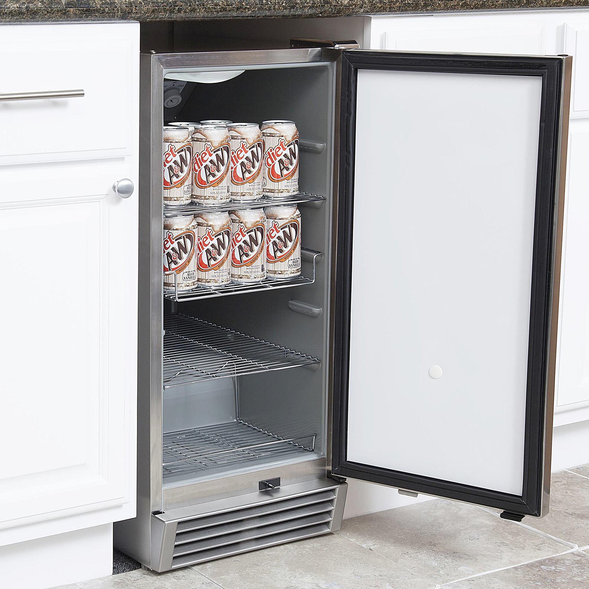Refrigerator Outdoor Whynter Bor 325fs Stainless Steel Indoor Outdoor Beverage