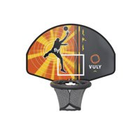 Vuly Basketball Hoop and Ball Set with Adapter Compatible with Vuly SkyZone and Ultra Trampolines
