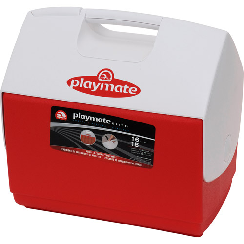 Igloo Playmate Elite Cooler - Red and White, 16-Quart