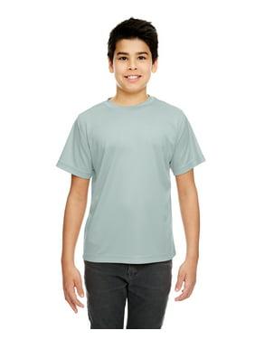 UltraClub Youth Cool & Dry Sport Performance InterlockT-Shirt - 8420Y
