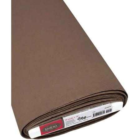 "Kraft-Tex Kraft Paper Fabric 19""X10yd-Chocolate FOB: MI - image 1 de 1"