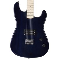 Davison Guitars Electric Guitar Midnight Blue Full Size With Cord And Picks
