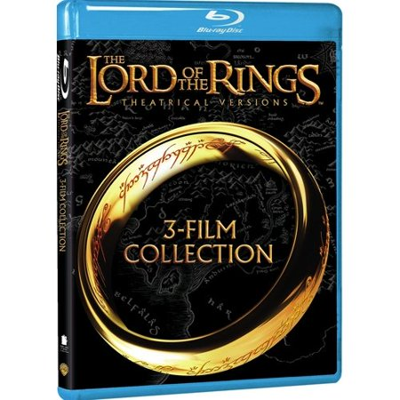 The Lord Of The Rings 3 Film Collection  Theatrical Versions   Blu Ray   Widescreen