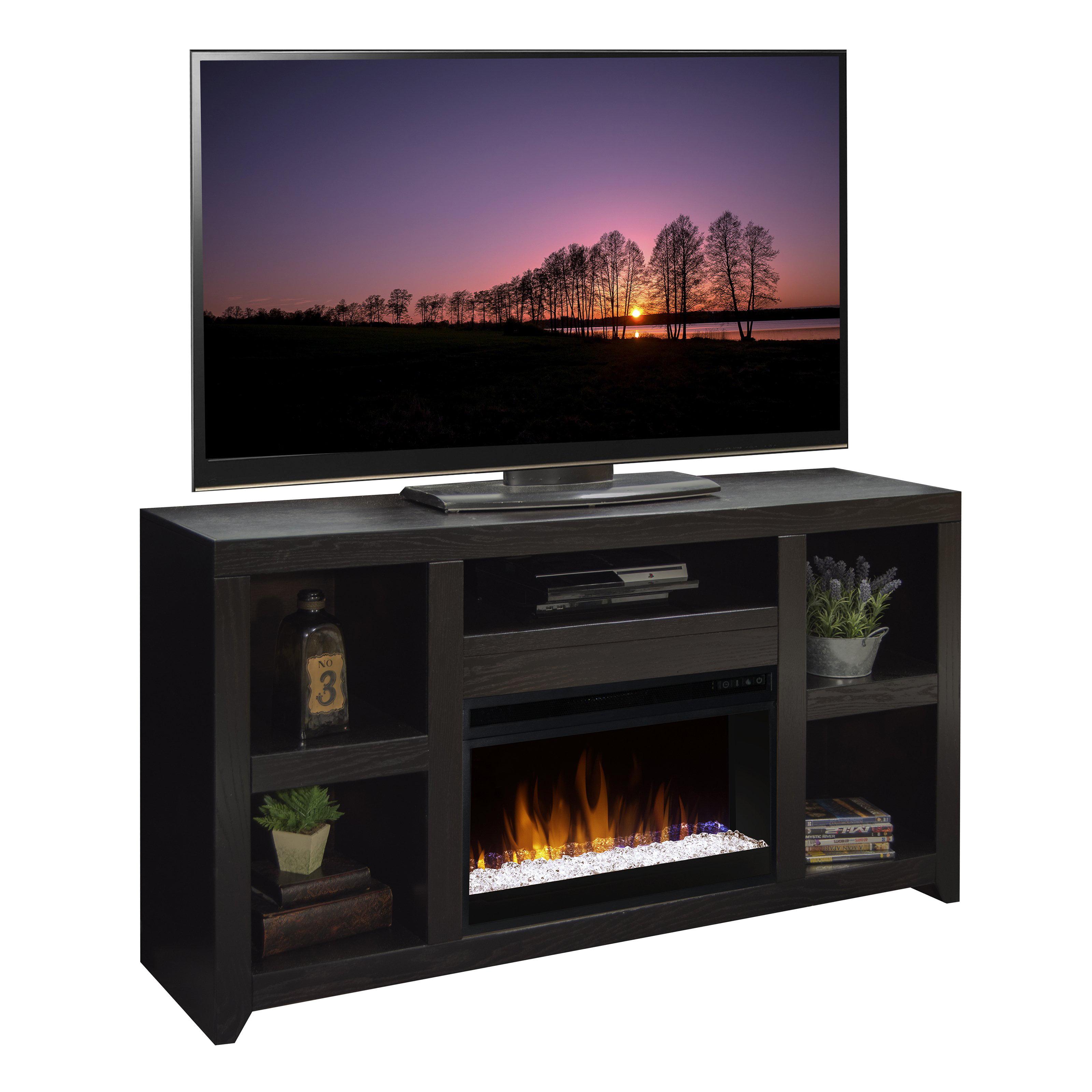 Legends Furniture Skyline 63 in. Electric Media Fireplace