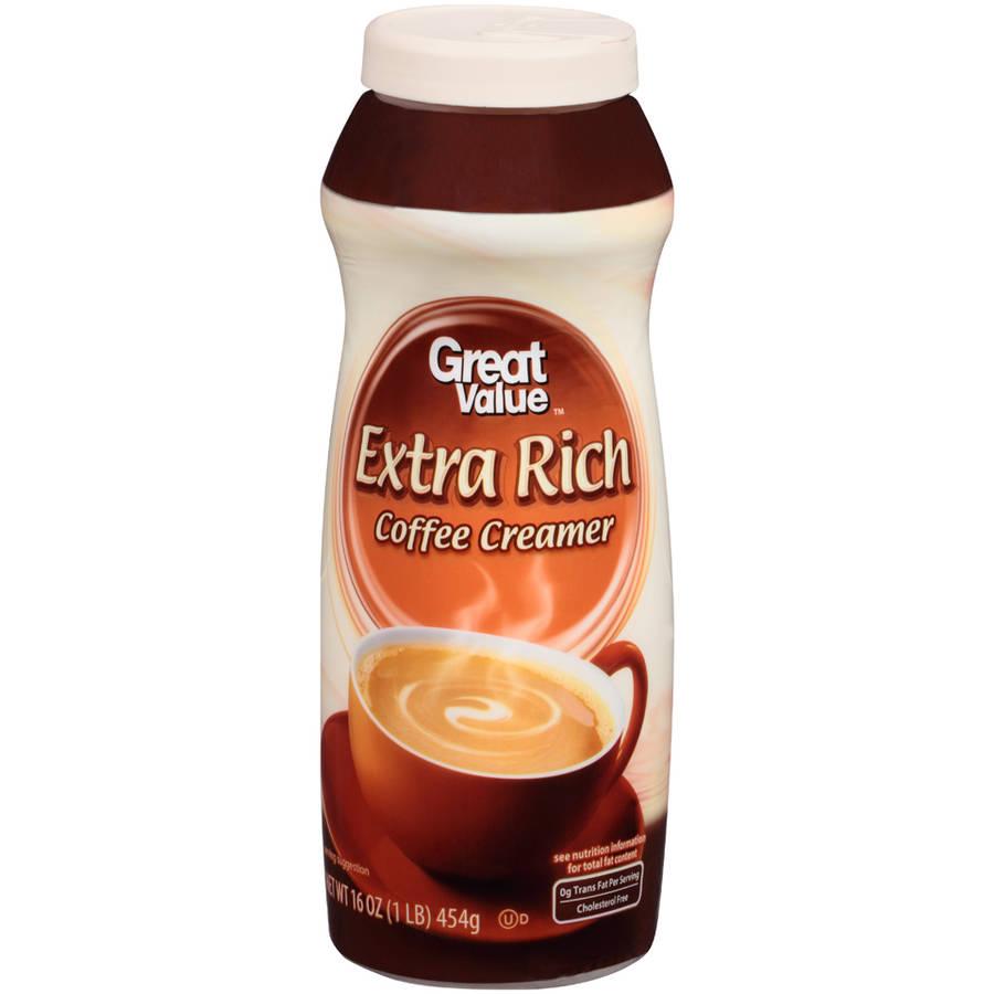 Great Value Non-Dairy Extra Rich Creamer, 16 Oz