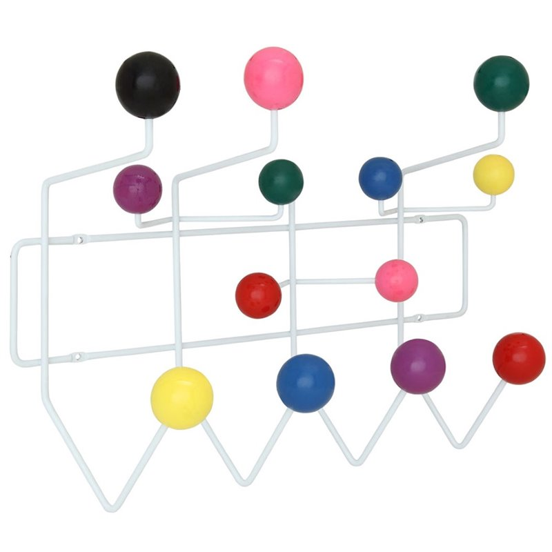 Hawthorne Collection Wall Mount Coat Rack