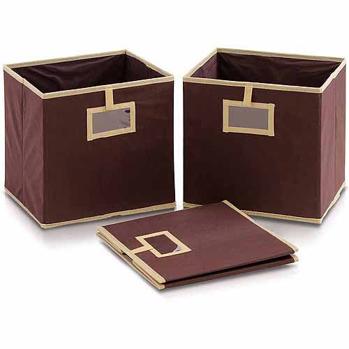 Furinno Laci NW1311P Foldable Soft Storage Bins, Set of 3