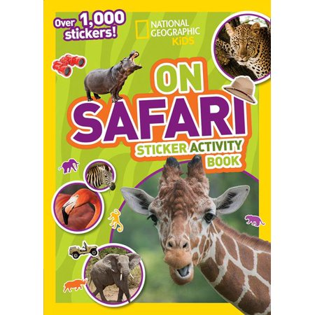 Kids Sticker Factory (National Geographic Kids on Safari Sticker Activity Book: Over 1,000 Stickers!)
