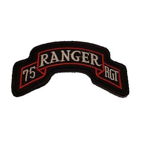 US ARMY 75TH RANGER REGIMENT SCROLL ROCKER PATCH AIRBORNE LEAD THE WAY VETERAN 75th Ranger Regiment Patch