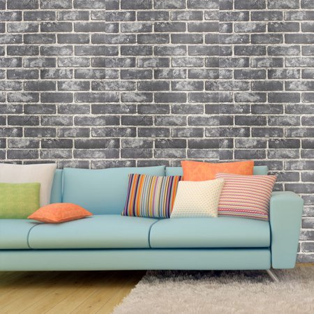 3d Brick Pattern Effect Wallpaper Bedroom Living Room Wall Tv Background Decor