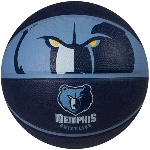 Spalding Team Logo Basketball, Memphis Grizzlies