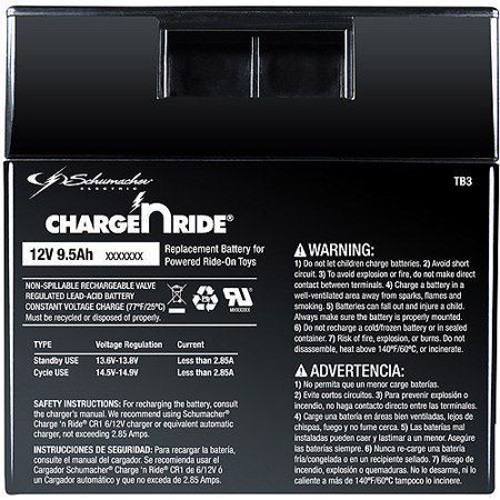 Schumacher 12v 9.2ah Battery