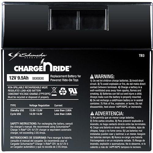 Schumacher 12v 9.2ah Battery