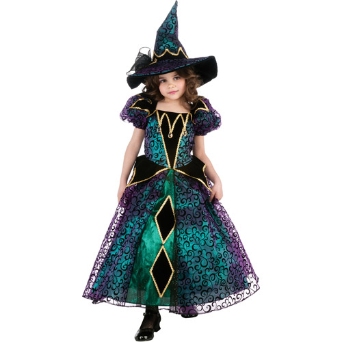 Radiant Witch Girls Dress Halloween Costume
