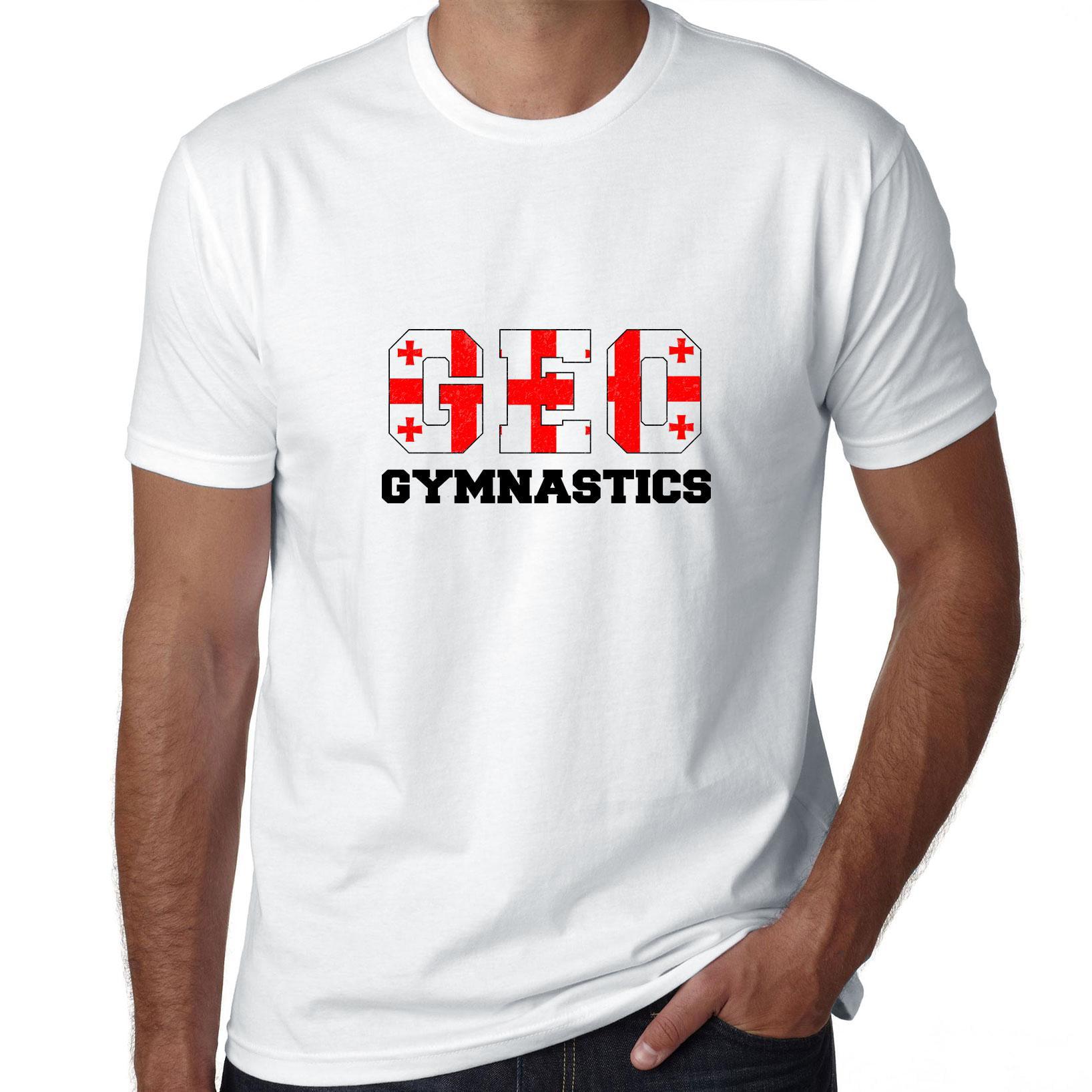 Georgia Gymnastics - Olympic Games - Rio - Flag Men's T-Shirt