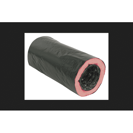 Deflect-O 12 in. x 25 ft. Dia. x 12 Dia. Polyethylene Cover Insulated Duct 12 Kobe Duct Cover