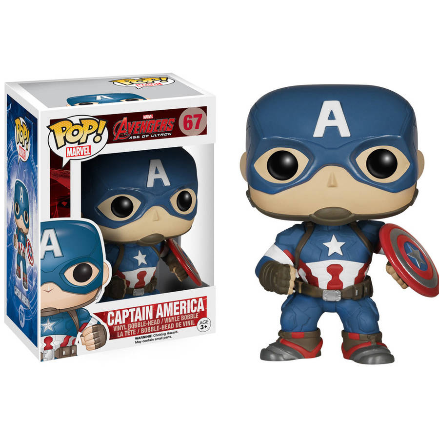 Funko Pop! Marvel Avengers 2, Captain America