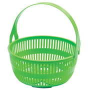 Norpro Green Canning Basket with Removable Handle