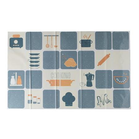 Wall Sticker Heat Resistant Self Adhesive Art Tile Brick For Kitchen Stove Decor