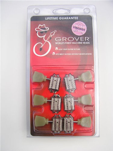 Grover Machine Head-Nickel by Grover